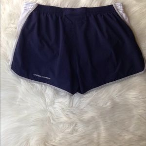 Under Armour Shorts - Under Armour Women's Athletic Blue Shorts Size L